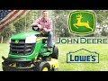 Best Riding Lawn Mower 2019 | John Deere E130 Review 🌿🌿🌿