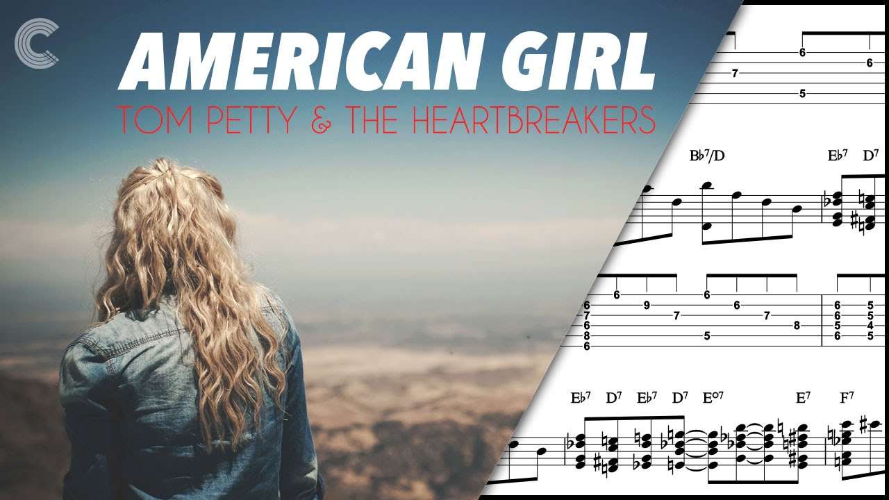Bass American Girl Tom Petty And The Heartbreakers Sheet Music