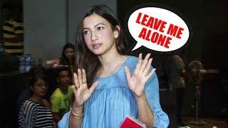 Gauahar Khan ANGRILY Walks Away From Media