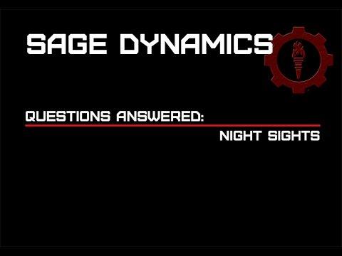 Night Sights for Handguns