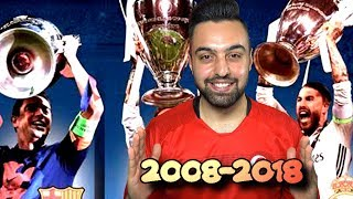 TÜM ŞAMPİYONLAR LİGİ FİNALLERİ ! 2008 - 2018