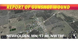 Report Of Juvenile With Gunshot Wound In Northwest Minnesota