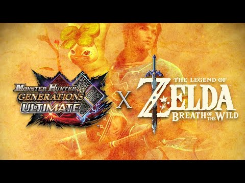 Monster Hunter Generations Ultimate x The Legend of Zelda