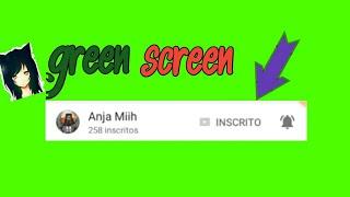 COMO FAZER GREEN SCREEN PERSONALIZADO DO SEU CANAL [ INSCREVA-SE] thumbnail