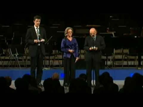 Davos Annual Meeting 2009 - Presentation of the Crystal Award