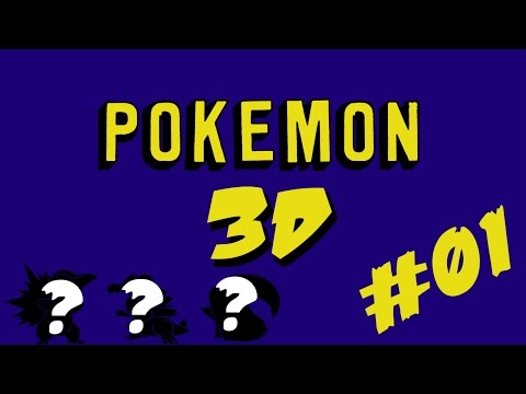 Let's Play Pokemon 3D | 3D Gold and Silver Remake | Episode 01 | Choosing Our Starter!