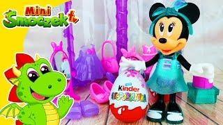 Myszka Minnie Urodziny   Jajka Kinder Niespodzianki   Fashion Doll Lalka Zabawki   Filmik Dla Dzieci