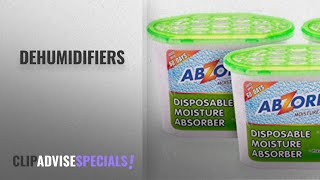 Top 10 Dehumidifiers [2018]: Abzorb-It Moisture Absorber,Pack Of Three-3X300G