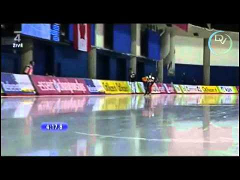 Martina Sáblíková & Ireen Wüst 5000m, Calgary 2011