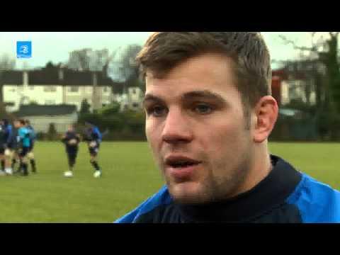 LTV: Leinster Pitchside Briefing Jordi Murphy Interview