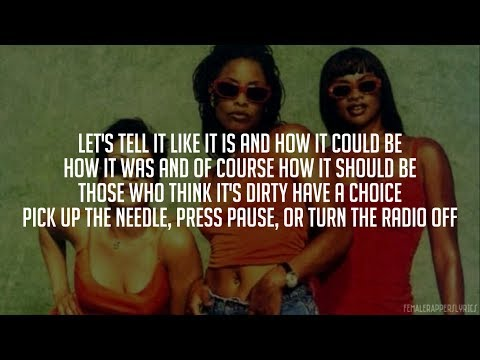 Salt-N-Pepa - Let's Talk About Sex (Lyrics - Video)