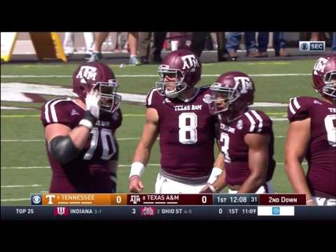 Texas A&M vs Tennessee - (FULL HD) - October 8, 2016 - College Station, TX
