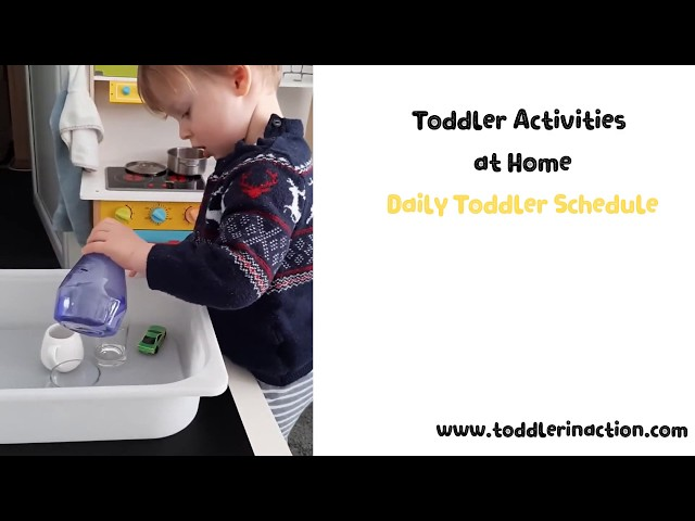 Easy and Fun Indoor Toddler Activities at home,  Practical Life, Simple Pouring station