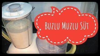 Kazım Büfe Muzlu Süt   Bütün Sırları İle Adana Kazım Büfe Buzlu Muzlu Süt Yapımı   Bir Adana Ritüeli
