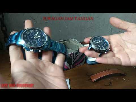 Perbedaan-Review Jam Tangan Merk Fossil Kw Dan Fossil Original Black Market , TERNYATA MESINNYA!!!