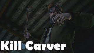 Kill Carver Kenny Kills Carver Dies The Walking Dead Season 2 Episode 3 In Harms Way