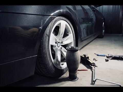 Замена пневмобаллона BMW E61 | китайская реплика