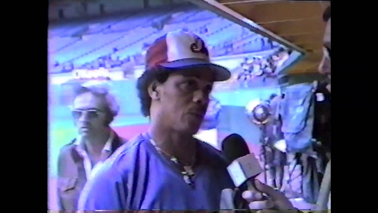 Expos Miguel Dilone  - 1985