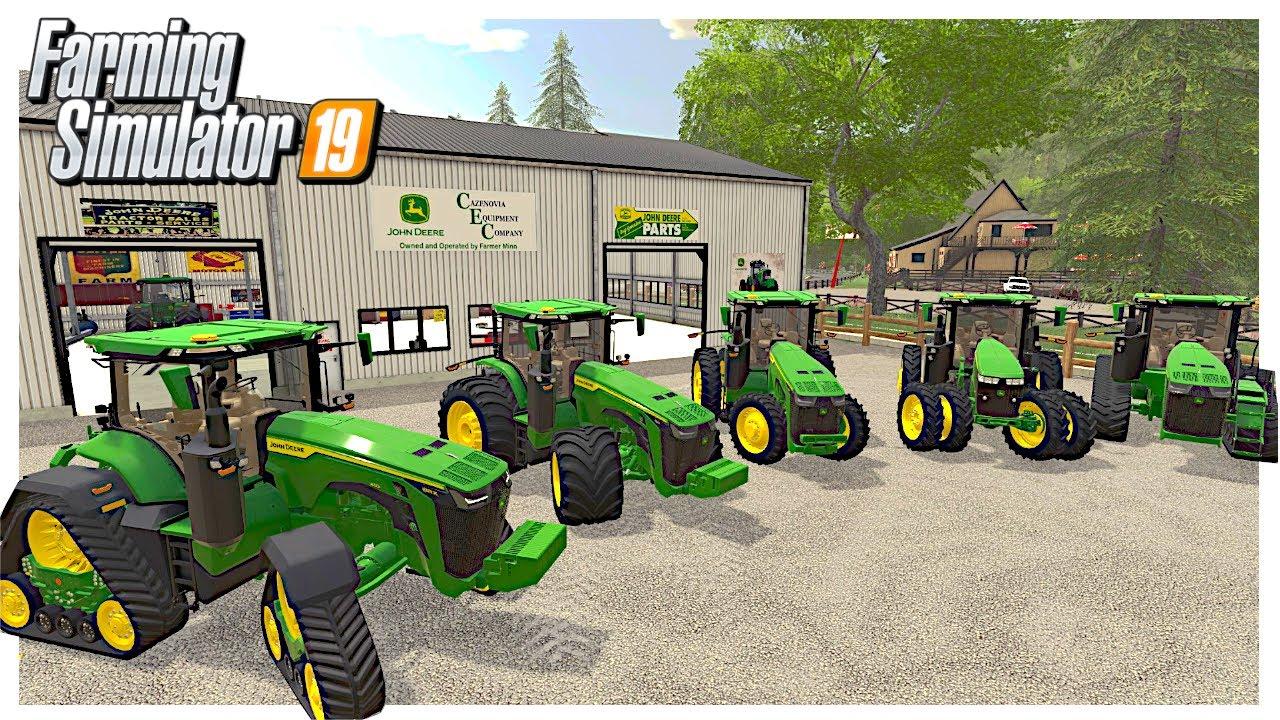 NEW 2020 JOHN DEERES FOR SALE AT THE JD DEALER  | Georgetown Roleplay | Farming Simulator 19