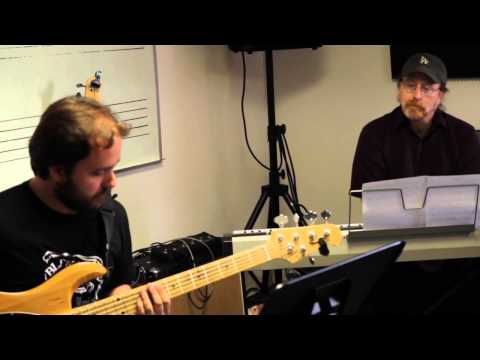 """Bass student Diego Mancini - """"Why study at Los Angeles College of Music (LACM)?"""""""