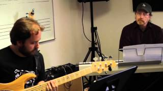 Bass student Diego Mancini -
