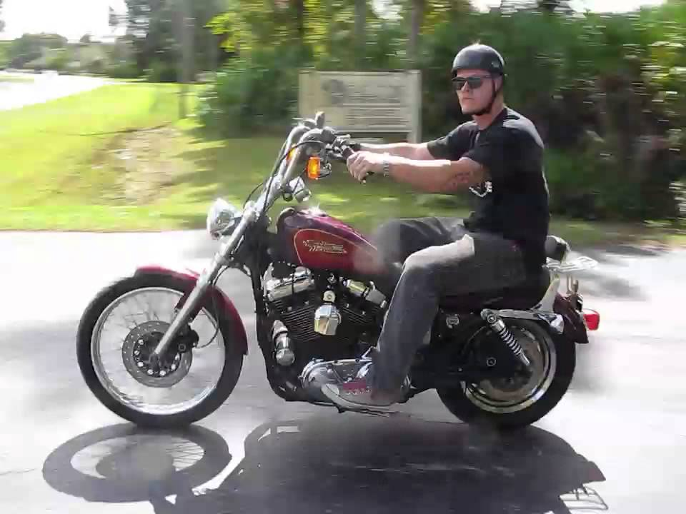 1454 96 sportster xlh 1200c maroon fallen cycles test ride youtube rh youtube com