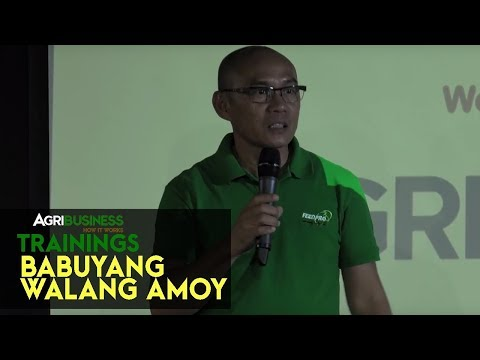 Babuyang Walang Amoy: Latest technology on Babuyang Walang Amoy | Agribusiness How It Works Training