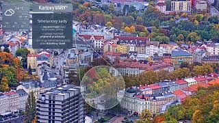 Preview of stream Cityscape of Karlovy Vary, Czechia
