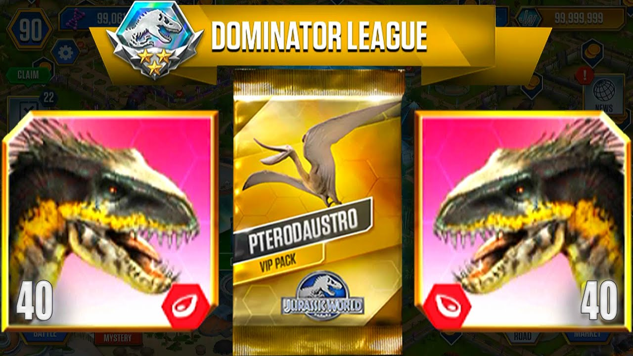 TOP 1 OPEN VIP PTERODAUSTRO PACK | JURASSIC WORLD THE GAME