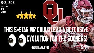 This Oklahoma 5-star WR would BEAST on DEFENSE!