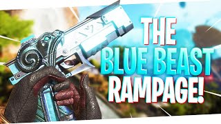 8 Kills in 90 Seconds w/ The BLUE BEAST RE-45 Skin! - PS4 Apex Legends!