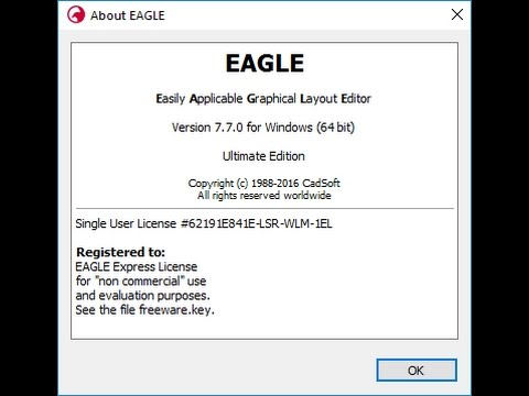 CadSoft Eagle Professional 7.7.0 x64 Patch - YouTube
