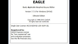 CadSoft Eagle Professional 7.7.0 x64 Patch | EndlessVideo