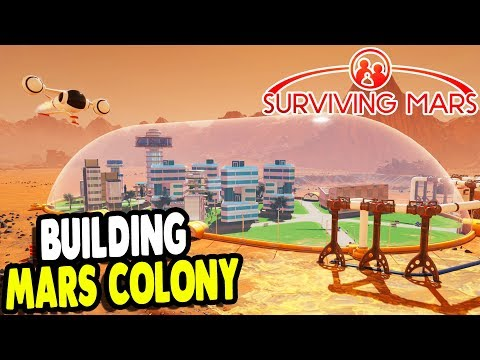 Colony On MARS Gets BIG UPGRADES | Shuttles & Updates | Surviving Mars Gameplay