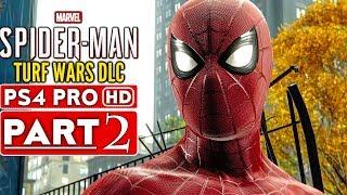 SPIDER-MAN PS4 Turf Wars DLC Gameplay Walkthrough Part 2 - No Commentary (SPIDERMAN PS4)