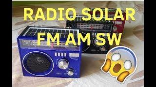 Radio Solar USB y Linterna - Multtiple sr