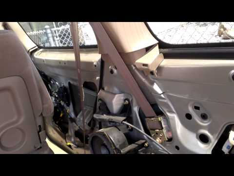 toyota sienna 2004 power sliding door cable center hi