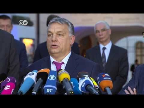 "Viktor Orban in Germany says ""You wanted the migrants, we didn't."""