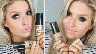 Top 5 Foundations ♡ Low End & High End