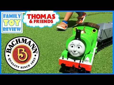 Thomas and Friends LARGE scale PERCY with Moving Eyes – Large Toy Train Bachmann Trains