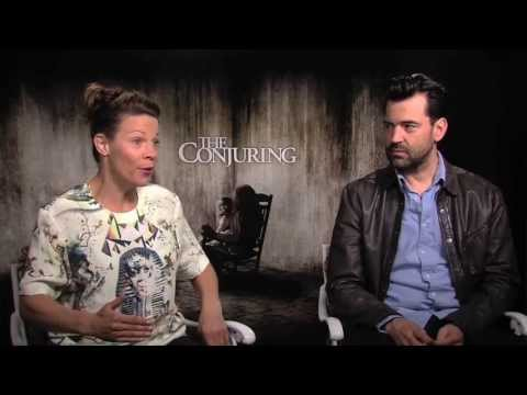 Lili Taylor and Ron Livingston Interview -- The Conjuring - YouTube