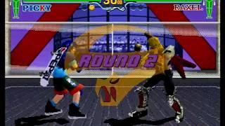 Fighting Vipers (Sega Saturn) Arcade as Picky