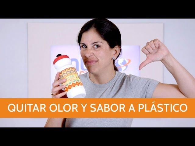 Quitar olor y sabor a plástico