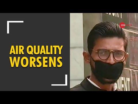 Delhi Pollution: Air quality worsens after Diwali