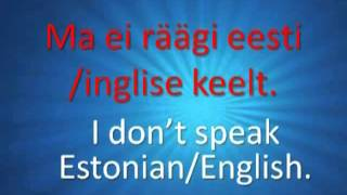 Learn Estonian for Free!  CD1.mp4