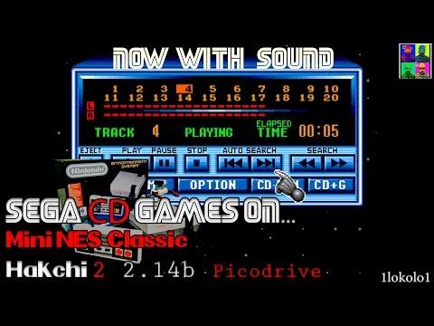 Mega CD BIN+CUE Audio Tracks Works on NES Mini Classic by Hakchi2 2 14b  Picodrive core