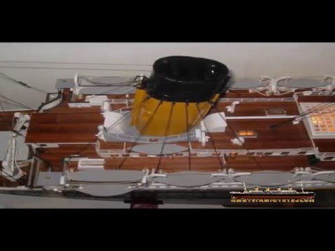 Building great titanic model construcci n de la maqueta - Construccion del titanic ...
