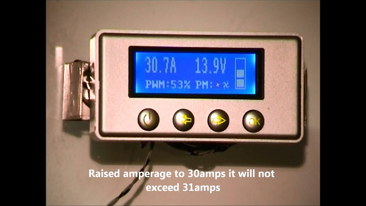 hho specific 60amp pwm lcd display show and tell hd wmv