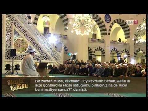 mehmet g�rmez diyanet - Mevlid Kandili 2013 / Mimar Sinan Camii - İSTANBUL