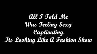 Repeat youtube video Fashion Show - Cory Lee - Lyrics